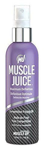 Muscle Juice Competition Posing Oil, Maximum Definition, 4 fl oz (118.5 ml)