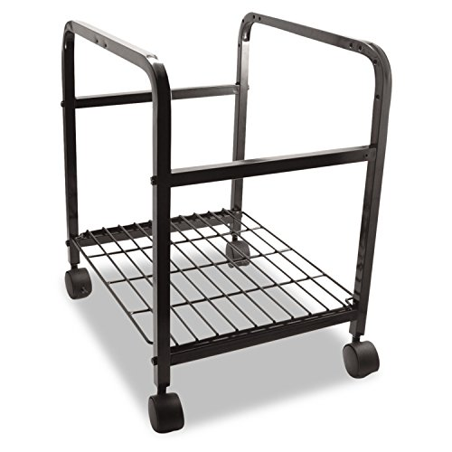 Portable File Companion Advantus - Advantus Heavy Duty File Shuttle Cart, 20 x 17.4 x 14.4 Inches, Steel, Black (FS-2BHD)