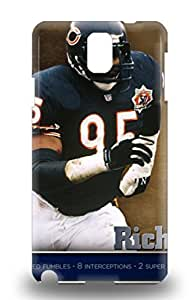 High Quality Durable Protection Case For Galaxy Note 3 NFL Chicago Bears Richard Dent #95 ( Custom Picture iPhone 6, iPhone 6 PLUS, iPhone 5, iPhone 5S, iPhone 5C, iPhone 4, iPhone 4S,Galaxy S6,Galaxy S5,Galaxy S4,Galaxy S3,Note 3,iPad Mini-Mini 2,iPad Air )