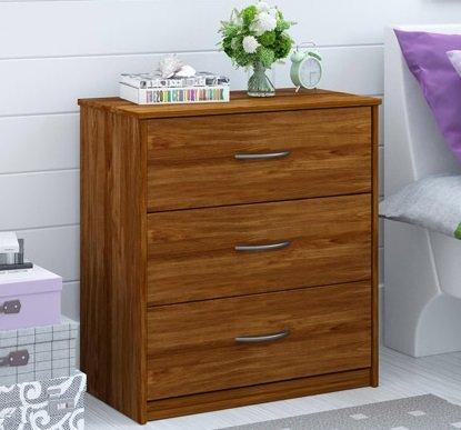 Amazon Com This Mainstays 3 Chest Of Drawers Dresser Alder Wood