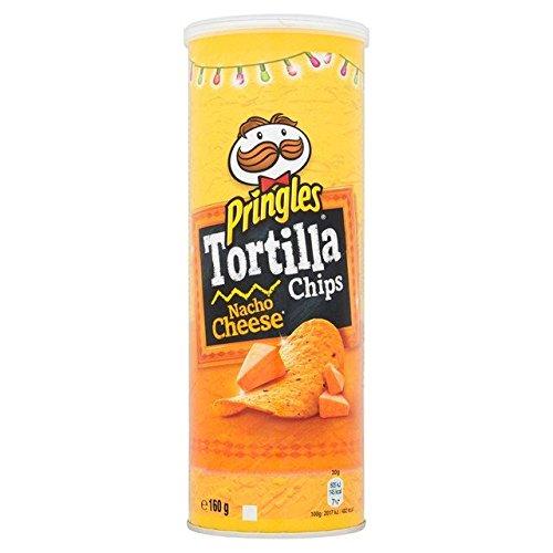 Pringles Tortilla Nacho Cheese 160g
