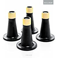 MALOUF Structures Set of 4 Bed Frame Replacement Glides