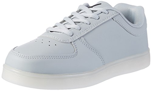 wize & ope Unisex-Erwachsene LED-Low Top, Grau (Grey 05), 39 EU