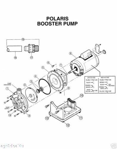 Polaris Pb4 60 Booster Pump 6 39 Hose Fitting Plumbing Kit
