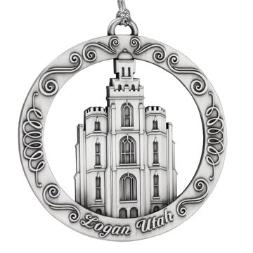 Logan Utah Temple Ornament - Lds Temple Logan