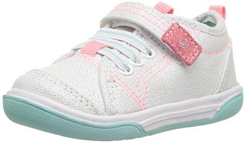 Stride Rite Dakota Sneaker, White, 8 M US - Rite Lightweight Sneakers Stride