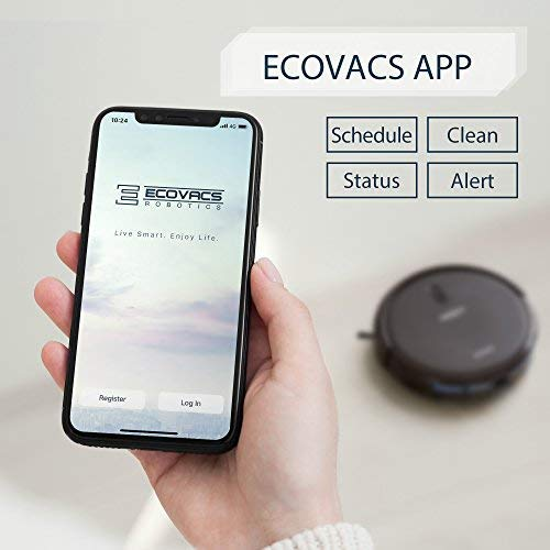 ECOVACS DEEBOT N79S Robot Vacuum Cleaner with Max Power Suction, Alexa Connectivity, App Controls, Self-Charging for Hard Surface Floors & Thin Carpets
