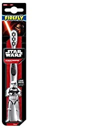 Firefly Star Wars Stormtrooper Sculpted Handle Soft Toothbrush