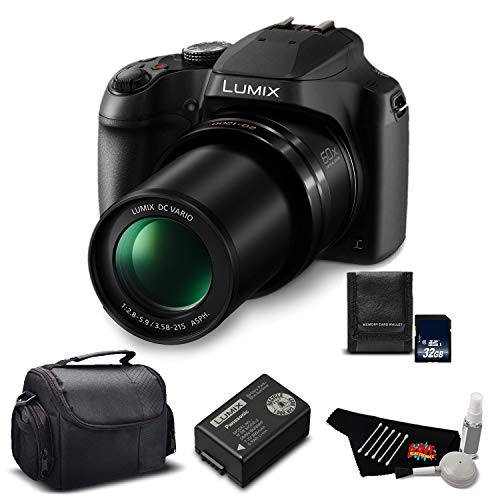 Panasonic Lumix DC-FZ80 60X Zoom Camera 2GB Memory Card ()