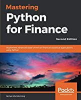 Mastering Python for Finance, 2nd Edition Front Cover