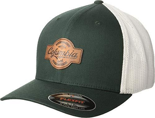- Columbia Men's Rugged Outdoor Mesh Hat, Dark Ivy, Patch, S/M