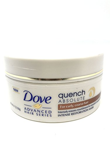 Dove Advanced Hair Series Intense Restoration Mask, Quench Absolute 6.70 oz Pack of 3