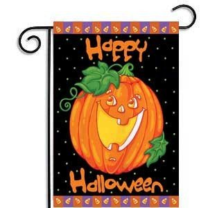 "DENTRUN Halloween Garden Flag,11.8"" x 17.8"",Front Porch Flag"
