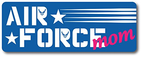 (Air Force Mom Magnet Decal Perfect for Car or Truck -)