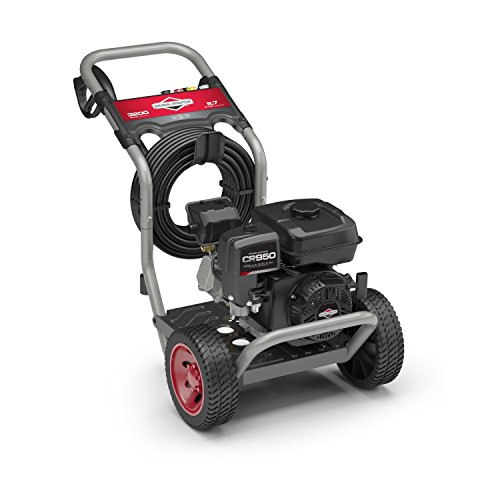 Briggs & Stratton 20655 Gas Pressure Washer 3200 PSI 2.7 GPM 208cc OHV with Easy Start Technology Briggs And Stratton Pressure Washer