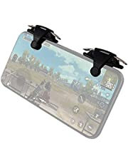 Gamepad High quality M9 Eating Chicken Game Handle Stimulates The Battlefield to Quickly Launch Physical Buttons to Assist In Eating Chicken Artifacts (Black) (Color : Black)