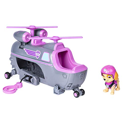 Paw Patrol Ultimate Rescue - Skye's Ultimate Rescue Helicopter with Moving Propellers & Rescue Hook, for Ages 3 & Up