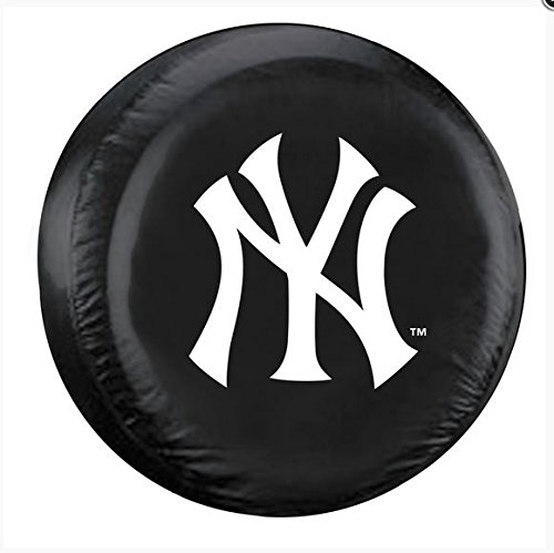 (Fremont Die MLB New York Yankees Tire Cover, Standard Size (27-29