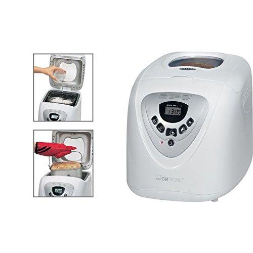 Clatronic BBA 2605 - Panificadora (, 13h granos temporizador, programa, cálido Postura: Amazon.es: Hogar