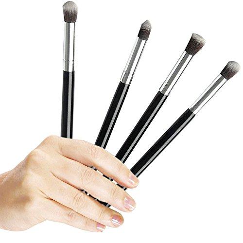 Professional 4pcs Eye Brushes Set Eyeshadow Blending Pencil Brush Make up Tool Cosmetic Makeup Eyeshadow Lip Eye Blush Foundation Power Brush Set Cosmetic Tool Kit (Eyeshadow Blending Brush Set compare prices)