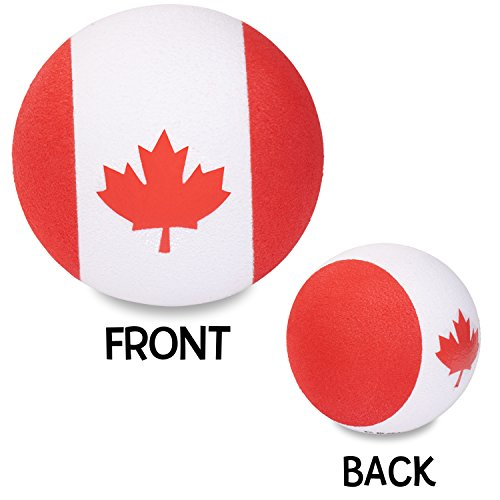 Tenna Tops - Canada Canadian Flag Car Antenna Topper / Antenna Ball Tenna Tops® TT069