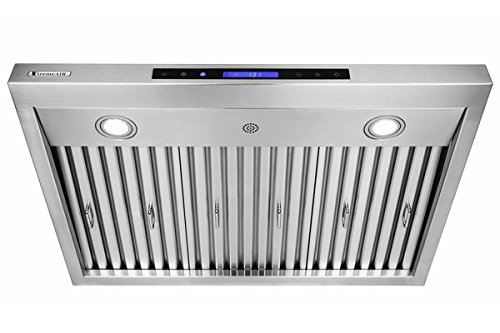 XtremeAir PX12-U36, 36'',LED Lights, Baffle Filter W/ Grease Drain Tunnel, 1.0mm Non-Magnetic Stainless Steel, Under Cabinet Mount Hood by XtremeAIR (Image #3)