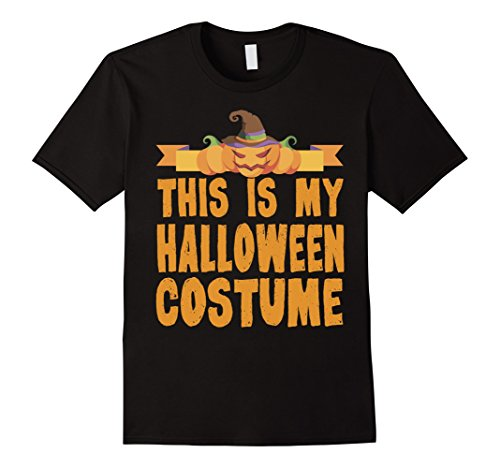 Sister Wife Halloween Costume (Mens This Is My Halloween Costume T-Shirt 3XL Black)