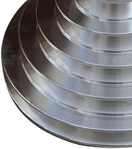 Tashido Rueda de Pagoda de Aluminio de 25 Mm de Di/áMetro a Rueda de Polea Tipo Pagoda de 5 Pasos para Correa Dentada de Correa Trapezoidal