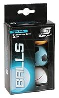 Sunflex 20606 Tischtennisbälle 40 mm 6 Stück Sport und Freizeitt Tischtennis