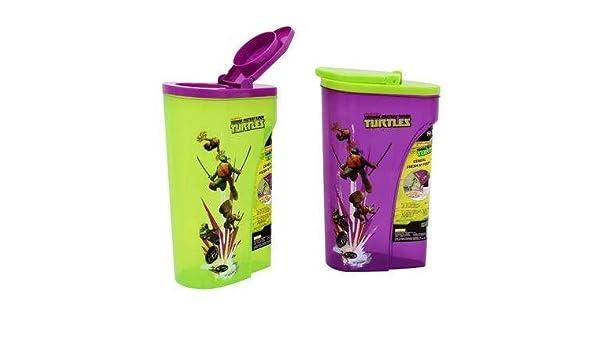 Teenage Ninja Tortugas cereales recipiente (varios colores ...