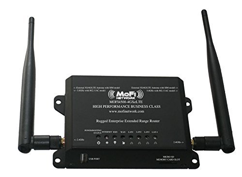 Price comparison product image MOFI4500-4GXeLTE 4G/LTE Router AT&T Sprint Verizon US Cellular T-Mobile