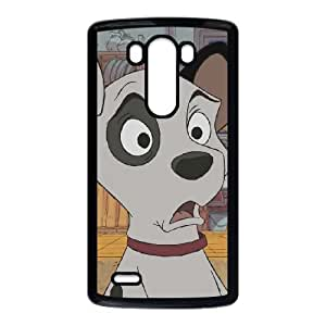 LG G3 Cell Phone Case Black Disney One Hundred and One Dalmatians Character Patch Oztcv