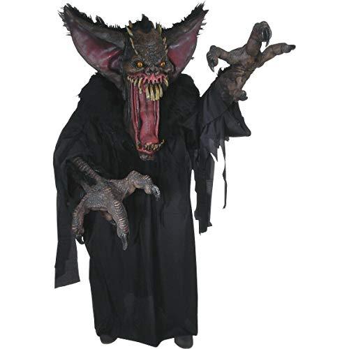(Scary Monster Costume Adult Vampire Bat Creature Reacher Halloween Fancy)