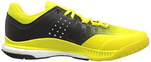 adidas Women's Shoes | Crazyflight X Volleyball Shoe - Lemon Peel/Metallic Silver/Black,Lemon Peel/Metallic Silver/Black,9.5 M US by adidas (Image #7)