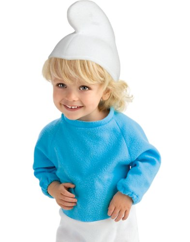 Rubies Smurf Ez On Romper Costume