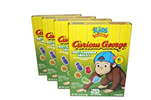 Amazon.com : Fruit Flavored Snacks, Curious George Gummies ...