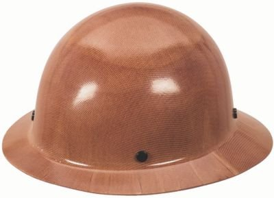 MSA Safety 454672 Skullgard Protective Hat with Staz-On Suspension, Standard Size, Brown, Blue by MSA