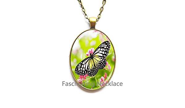 New Locket Necklace,MORPHO BUTTERFLY Locket Pendant Blue Butterfly Locket Necklace Butterfly Jewerly Blue White Insect Jewelry Butterfly Lover Gift,AE0060