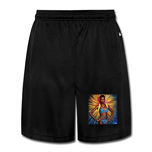 Victoria's Secret Model Maria Borges Boy's SoftHeavyWeight Shorts Sweat Pants Print