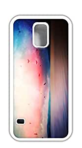 NBcase Birds With Night Starts Hard PC case for samsung galaxy s5 active