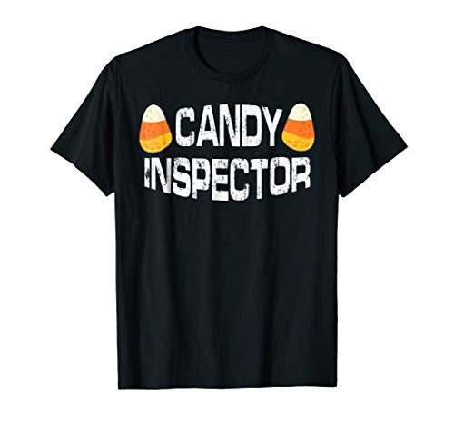 Halloween Candy Corn Inspector T Shirt Funny Gift Mens Women