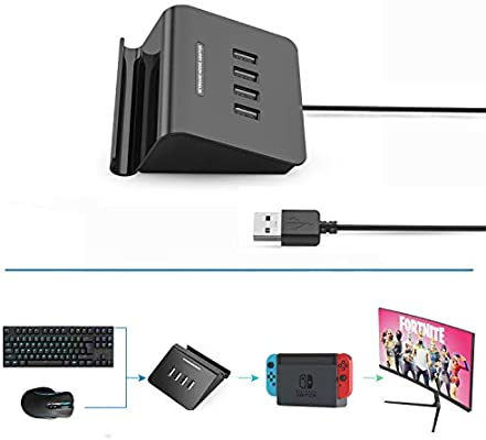 Delta essentials Keyboard and Mouse Adapter for PS4 XBOX ONE