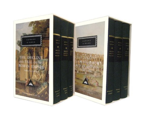 The Decline and Fall of the Roman Empire, Volumes 1 to 6 (Everyman's Library)