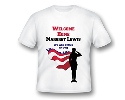 Custom Welcome Home T-shirt, Welcome Home Shirt, Army T-shirt, Welcome Home Ideas, Welcome Home Print Shirt, army shirts, Proud of you Shirt, Custom Shirt