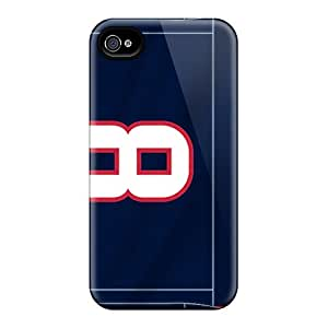 New Arrival Case Cover With VwI1162OLhA Design For Iphone 4/4s- Houston Texans