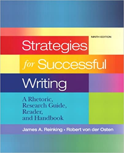 Amazon strategies for successful writing a rhetoric strategies for successful writing a rhetoric research guide reader and handbook 9th edition 9th edition fandeluxe Images