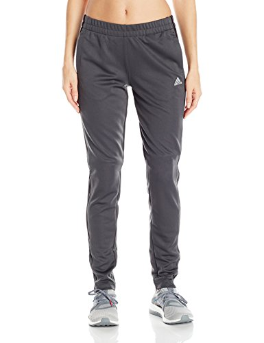 adidas Women's Athletics T10 Pants, Dark Solid Grey, Large