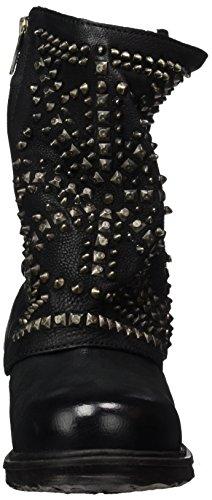Women's Schwarz Biker Black Saintec Boots S A Nero 98 Ecq0Fwna