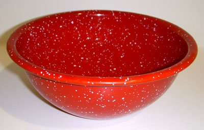 GSI 6'' Mixing Bowl Red