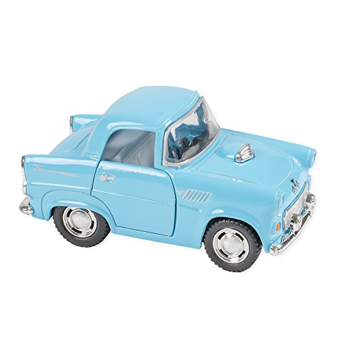 1955 Ford Thunderbird Color 4 Inch Funny Car Die Cast Toy, Blue